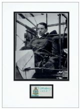 Thomas Sopwith Autograph Display